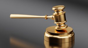 obey copyright law - gavel